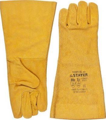 Купить Краги пятипалые термостойкие STAYER MASTER 11331-XL