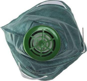 Купить Полумаска фильтрующая, с клапаном, FFP1 DEXX Без серии 11170