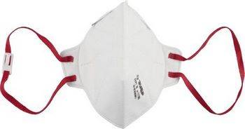 Купить Полумаска фильтрующая плоская, многослойная, класс защиты FFP1. ЗУБР МАСТЕР 11165