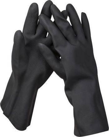 Купить Перчатки неопреновые противокислотные KRAFTOOL EXPERT 11282-XXL