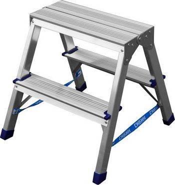 Купить Лестница-стремянка двухсторонняя СИБИН Без серии 38825-02