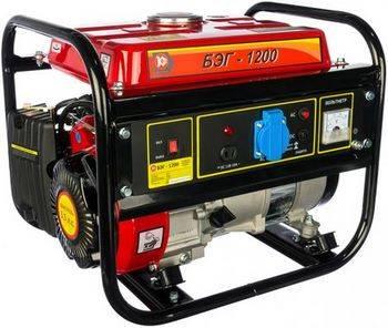 Купить Бензиновый электрогенератор КАЛИБР БЭГ-1200