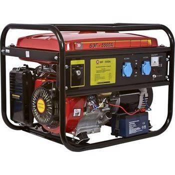 Купить Бензиновый электрогенератор КАЛИБР БЭГ-5500А
