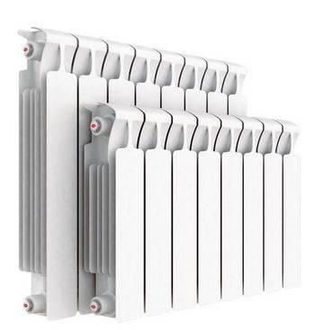 Купить Радиатор RIFAR Monolit 350 х 4 секц. RM35004НП50 прав (MVR) 50 мм