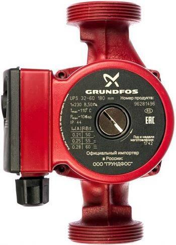Купить Циркуляционный насос GRUNDFOS UPS 32-60 180 96281496