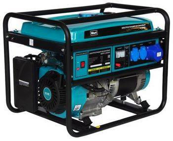 Купить Генератор бензиновый WERT G 8000D
