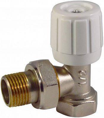 Купить Клапан регулирующий СТМ ТЕРМО CARAVH12 1/2 дюйма ручной, для радиатора, угловой