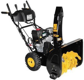 Купить Снегоуборочная машина бензиновая CHAMPION ST656BS 6.5 л/с, 56 см, 3 л, 77.5 кг, электростартер, колёсный привод 6F/2R, фара