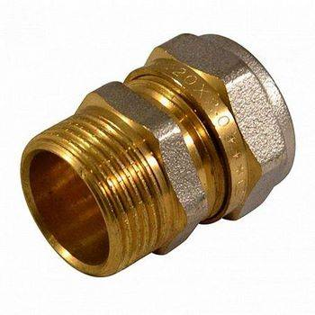 Купить Соединение CTM CCM02012 20х1/2, наружная резьба