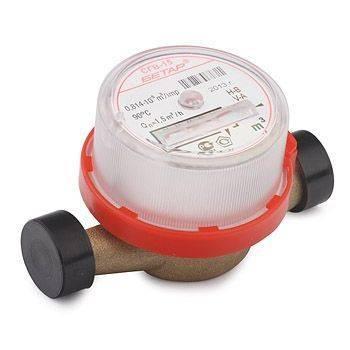 Купить Счётчик воды БЕТАР СГВ-15 для холодной и горячей (без штуцеров)