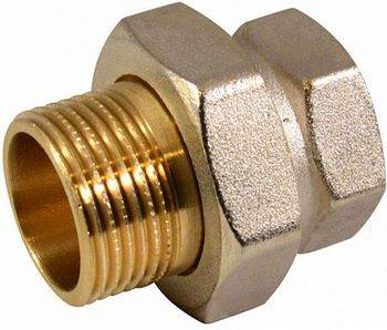 Купить Соединитель прямой CTM CRAS0034 3/4 дюйма, накидная гайка, гайка/штуцер