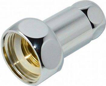 Купить Соединитель прямой СТМ ТЕРМО CPCF3434 для полотенцесушителя 3/4x3/4 дюйма, гайка/гайка, хром, 2 шт.