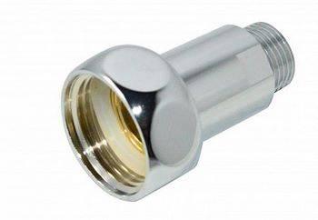 Купить Соединитель прямой СТМ ТЕРМО CPCM0112 для полотенцесушителя 1x1/2 дюйма, гайка/штуцер, хром, 2 шт.