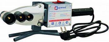 Купить Аппарат для сварки пластиковых труб СТМ CP-WM215 1500 Вт, металлический ящик + инструмент