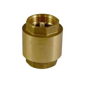 Купить Обратный клапан СТМ CBCVB012 1/2 дюйма, латунный шток
