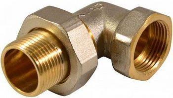 Купить Соединитель угловой CTM CRAE0012 1/2 дюйма, накидная гайка, гайка/штуцер