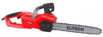Купить Пила цепная электрическая ELITECH ЭП 2200/16 2000 Вт