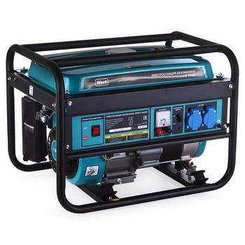 Купить Генератор бензиновый WERT G 3000D