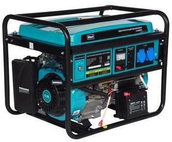 Купить Генератор бензиновый WERT G 6500ED