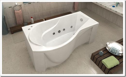 Самостоятельный выбор акриловой ванны