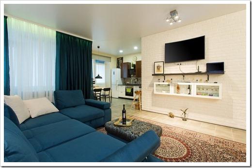 Какие аспекты должен затрагивать ремонт в квартире-студии?
