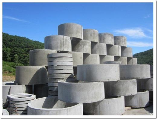 Расчёт объёма бетонного кольца