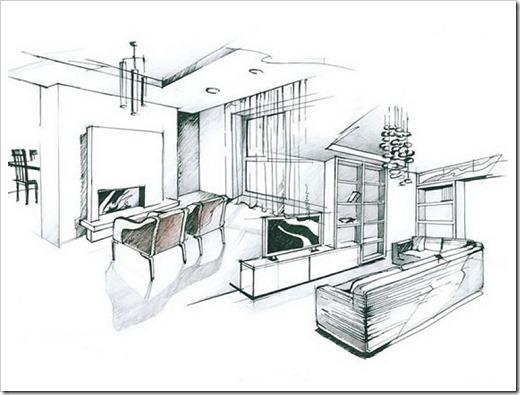 проектирование и дизайн интерьера
