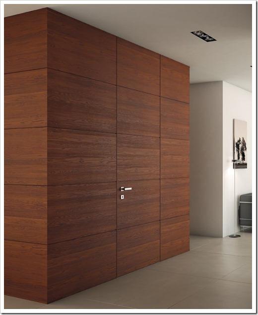 Технические особенности скрытых дверей в шпоне
