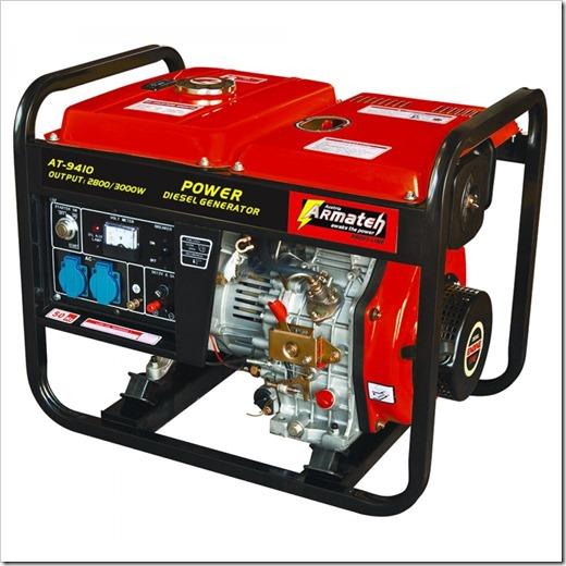 Как смонтировать арендованный генератор?