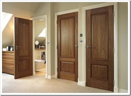 5 преимуществ межкомнатных деревянных дверей