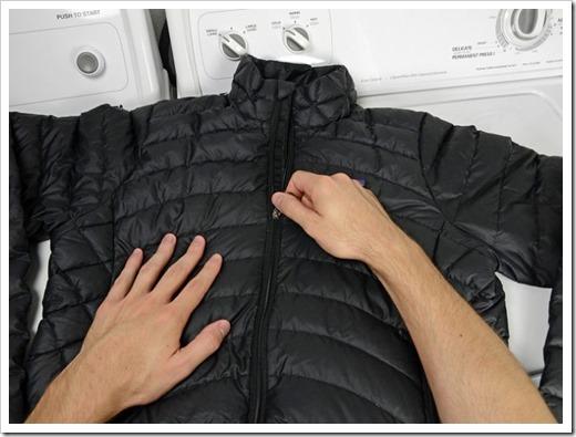 стирать куртку на синтепоне