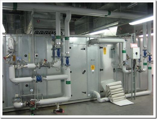 Узловые элементы системы вентиляции