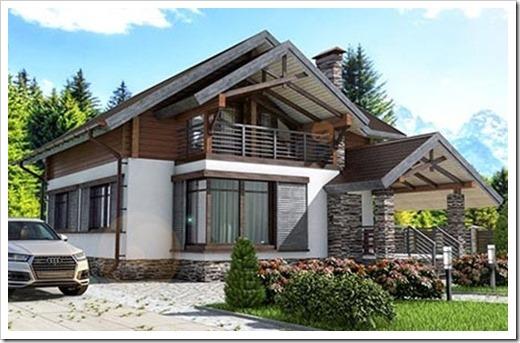 Особенности, достоинства и недостатки комбинированных домов