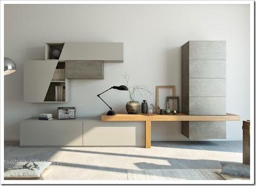 дизайн квартиры при помощи мебели